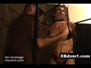 Wild Ass Bondage Chick Extreme Penetration