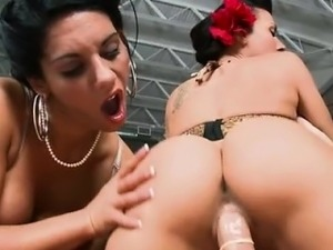 Round ass Rachel Starr and Bella Reese