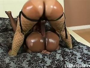 Black lesbian sluts strapon fuckTwo black big booty