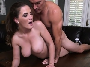 Big Boobs Molly Jane And Her Gym Buddy Loves To Fuck At Home
