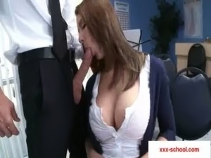 16-Big tits at school free
