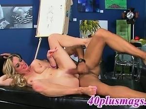 Ann 54yo blonde mature