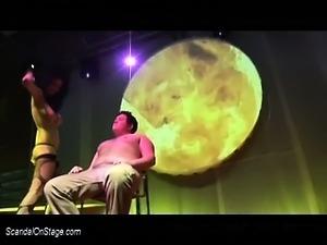 privat Lap Dance on public stage