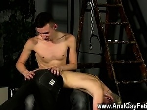 Gay sex Spanked Boy Sucks