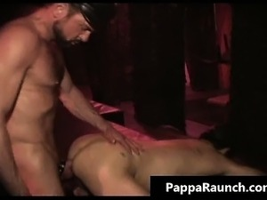 Extreme gay hardcore asshole fucking S and M part3