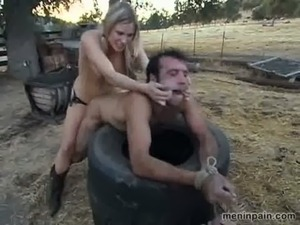 Femdom Ranch of Male Training! Part 4 free