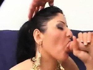 Tight sexy Indian beauty loves white cock