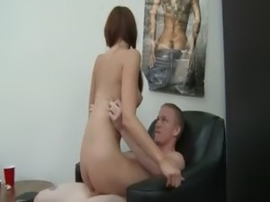 Horny girls fucking everywhere in hotel