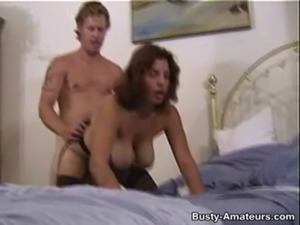 Busty Serena getting some hard fuck on bed free