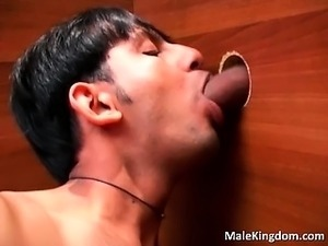 Wild threesome hot queer  is sucking part6