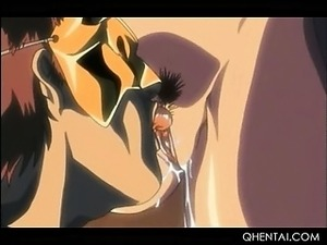 Hentai hotties pussy toyed and banged hard over the sink
