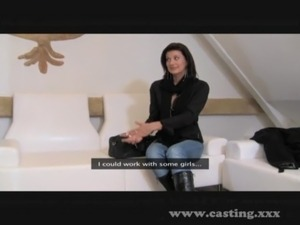 Casting - Mature babe is as wild as it gets free
