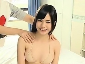 Japanese Babe Gets Her Breasts Massaged