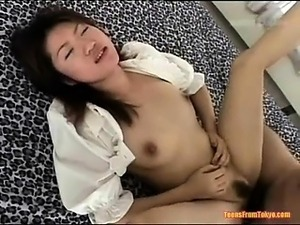 An Asian blow job