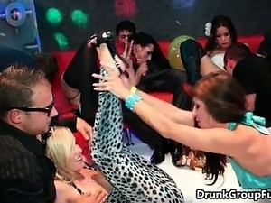 Nasty sluts from DrunkSexOrgy go crazy part6