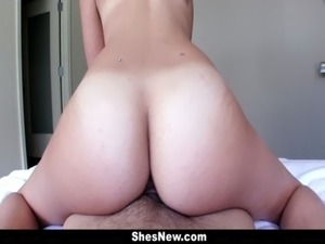 ShesNew - Carrie Brooks Gets Fucked Hard free