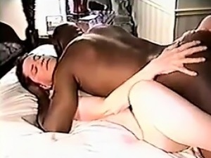 Wife And A Fat Black Guy Fucking Cuckold