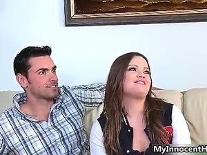 Sexy schoolgirl gets talked into having part2