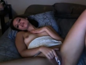 Shy Teen Fingers To Hot Orgasm On Webcam