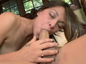 Cute coed Olivia Wilder gets her face loaded with cum