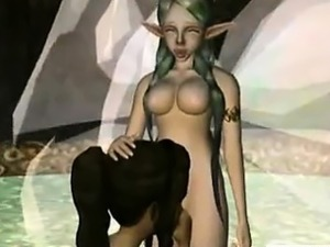 3d girl sucks and gets fucked by shemale