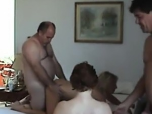 Swingers tape their fuck party