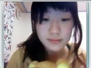Asian College Student With Big Tits on Webcam free