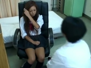Spycam Schoolgirl misused by Doctor 3 free