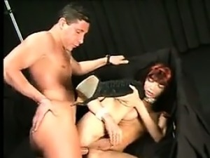 Skinny Shemale Pounded In The Ass