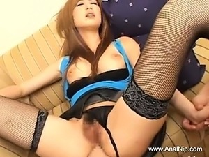 Beautiful asian chick from Tokyo fucked