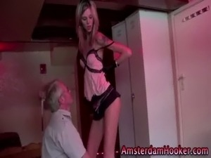 Redlight lingerie slut sucks free
