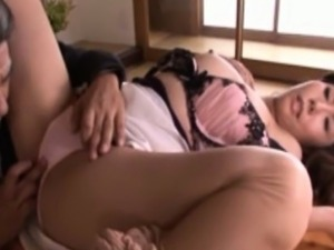 Asian milfs finger and oral fun at home