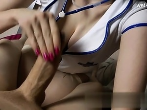 Glamour pussy creampie gangbang