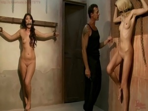 Slave Girl collected, trained, tormented for auction free