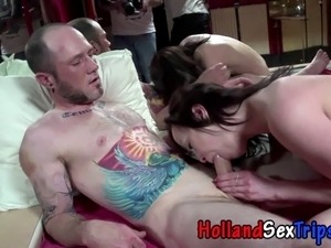 Real hooker sucks and fucks cock