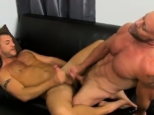 Gay XXX The stud share their oral skills with Casey butt lic
