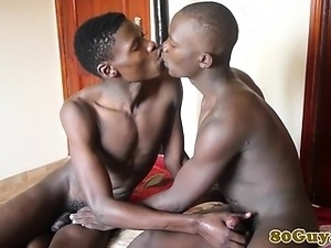 Amateur gay african duo sucking dick