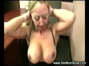 Horny and hungry milf sucks cock and wants cum free