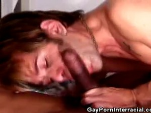 We have this hot interracial encounter on this clip as these men cock sucks...
