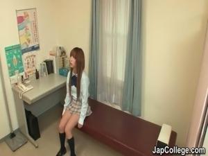 japanese schoolgirl sucks dick at office free