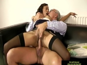 Young british slut giving bj to old sir free