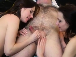 College girl throat swallow