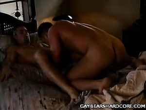 Muscled Gay Blowjob