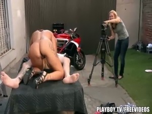 Behind the scenes at Playboy tv free