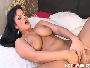 Carmen Croft kicks of a steamy masturbation session by stripping in front of...