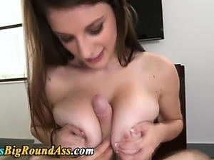 Big tit booty babe blowjob fuck