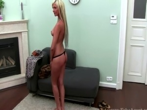 Real sex audition blond fucked doggystyle free