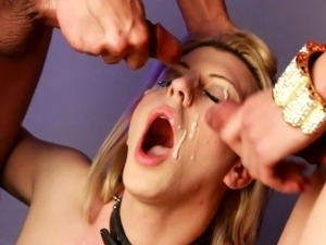 Tyra Scott as Slave for Robbie and Venus Lux