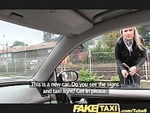 FakeTaxi Posh blonde falls for my out of gas trick