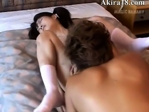 Hardcore japanese havingsex with model